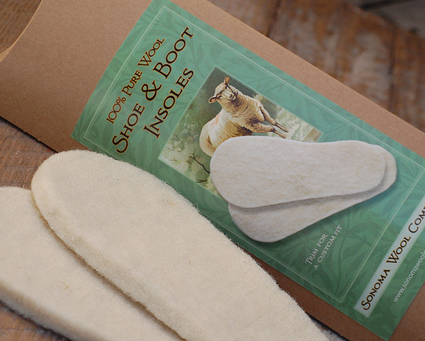 Wool Shoe & Boot Insoles