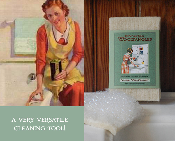 Wooltangles Wool Cleaning Pads